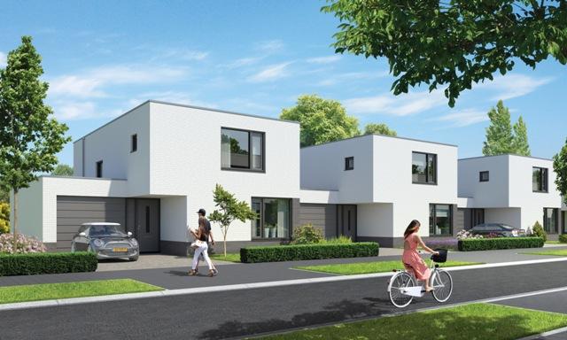 8 geschakelde woningen aan de teunisbloem poelveld for Hillen interieur